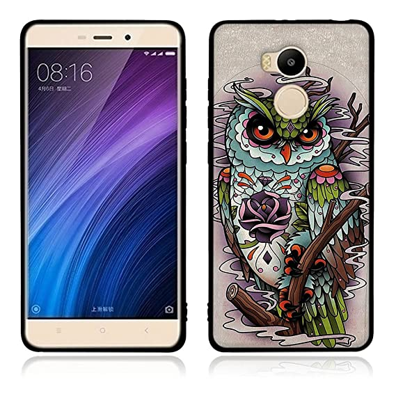 official photos 1e194 82c7f Amazon.com: Xiaomi Redmi 4 Prime Case, Waterproof Case with TPU Soft ...