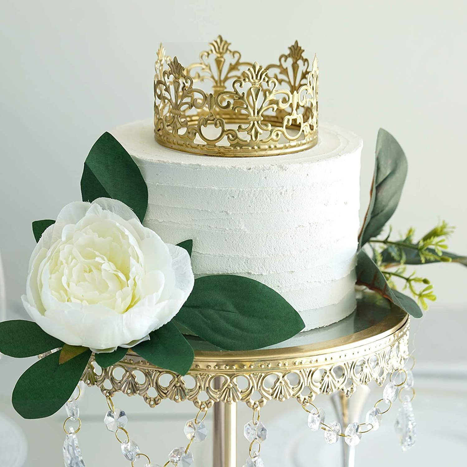 Tremendous Amazon Com Efavormart Gold Metal Princess Crown Cake Topper Funny Birthday Cards Online Inifofree Goldxyz