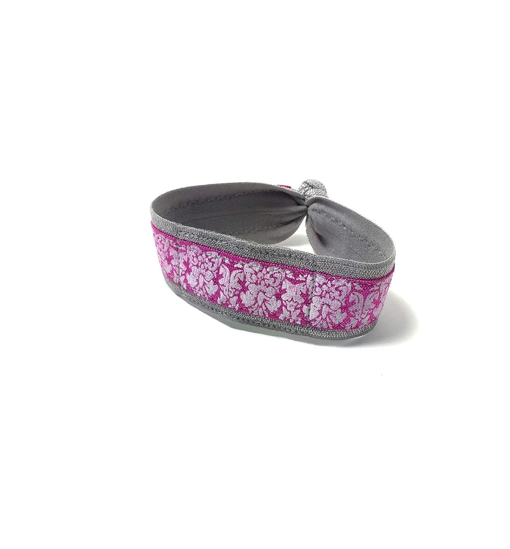 Pink Floral Wrist or Ankle Band for Fitbit Flex / Flex 2 / Alta