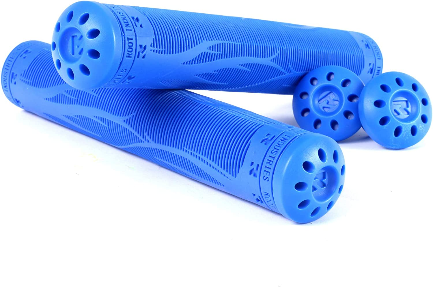 Tons of Colors R2 Pro Scooter Grips BMX Bar Ends Included Fits Stunt Scooters BMX Grips Unique Blended Style Mountain Bike BMX Accessories Bike Handlebar Grips Soft and Comfortable