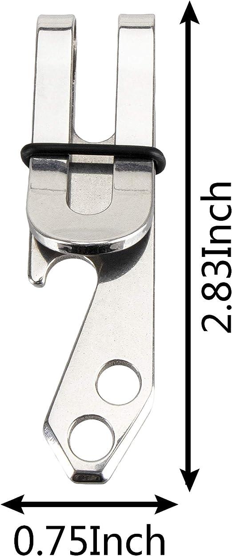 Stainless steel Pocket Suspension Clip EDC Key Tools Keychain10KG Load HoldWTUS