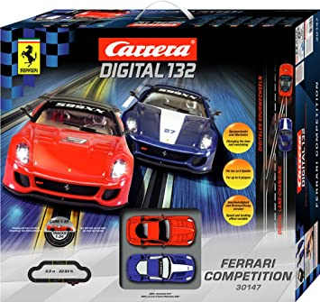 Carrera 20030147 Digital 132 Ferrari Competition Amazon De Spielzeug