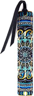 product image for Guardian of Water - Art by Gaia Woolf-Nightingall - Wooden Bookmark with Suede Tassel