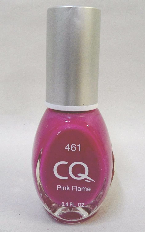 Amazon.com : CQ Nail Polish .4 Oz - Pink Flame # 461 : Beauty