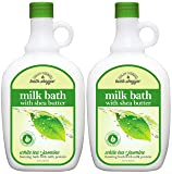 Village Naturals Bath Shoppe, Milk Bath, White