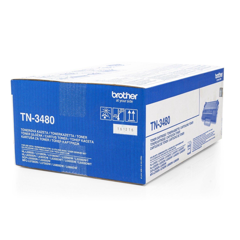 Toner original para Brother HL de l 5100 dntt Brother tn3480 ...