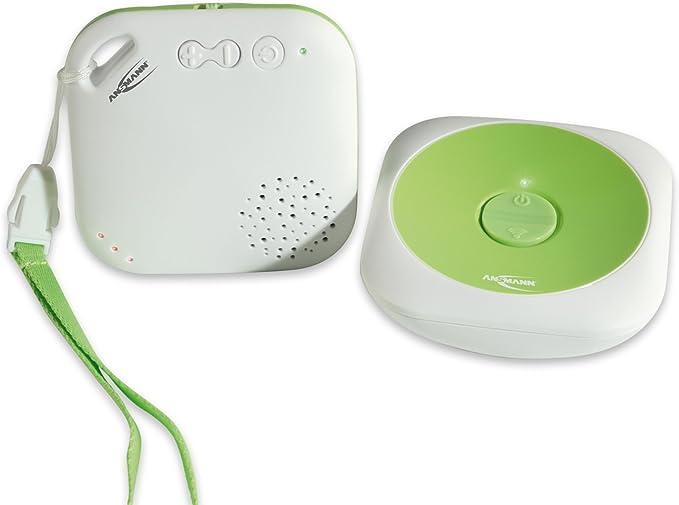 ANSMANN 1800 0025 Sydney DECT Babyphone strahlungsfrei zur optimalen Funkübertragung Sender