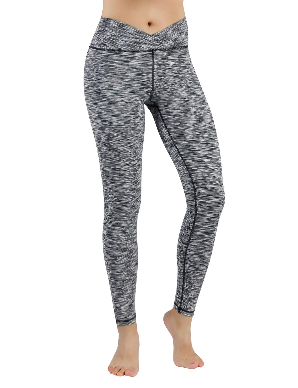 00e177599c070c Clothing ODODOS Power Flex Yoga Capris Pants Tummy Control Workout Running  4 Way Stretch Yoga