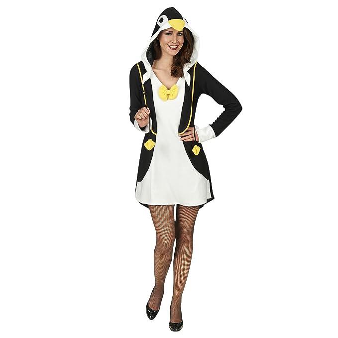 Andrea Moden Pingüino Señoras del Vestido del Traje Negro ...