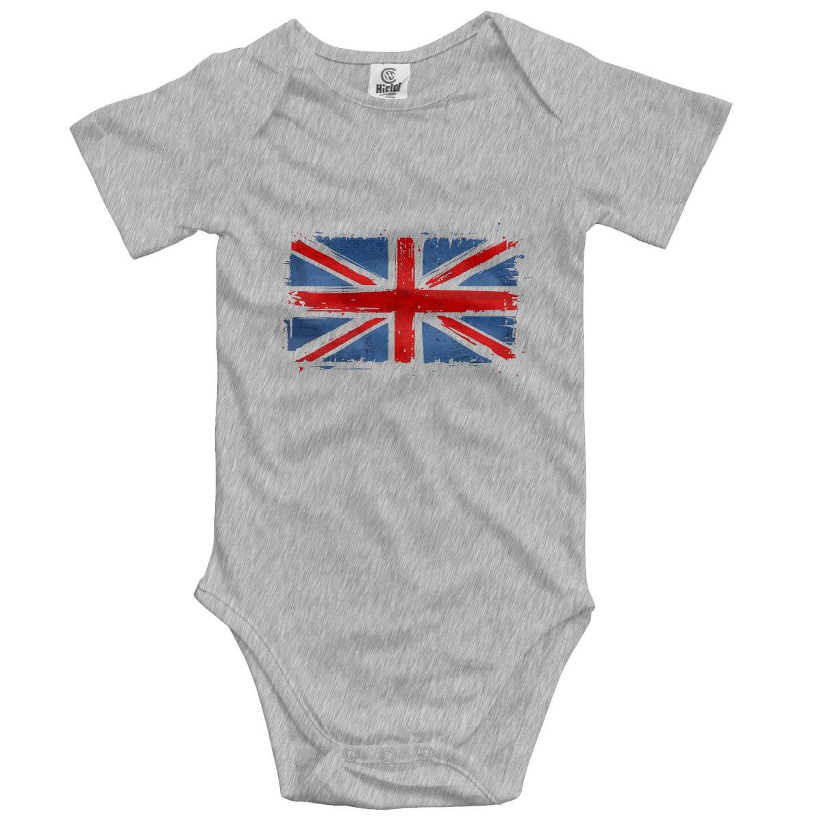 CUTEDWARF Baby Short-Sleeve Onesies Britain Bodysuit Baby Outfits
