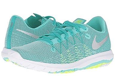 hot sale online c41a8 1a55f Amazon.com | Nike Flex Fury 2 (GS) Girls Fashion-Sneakers ...