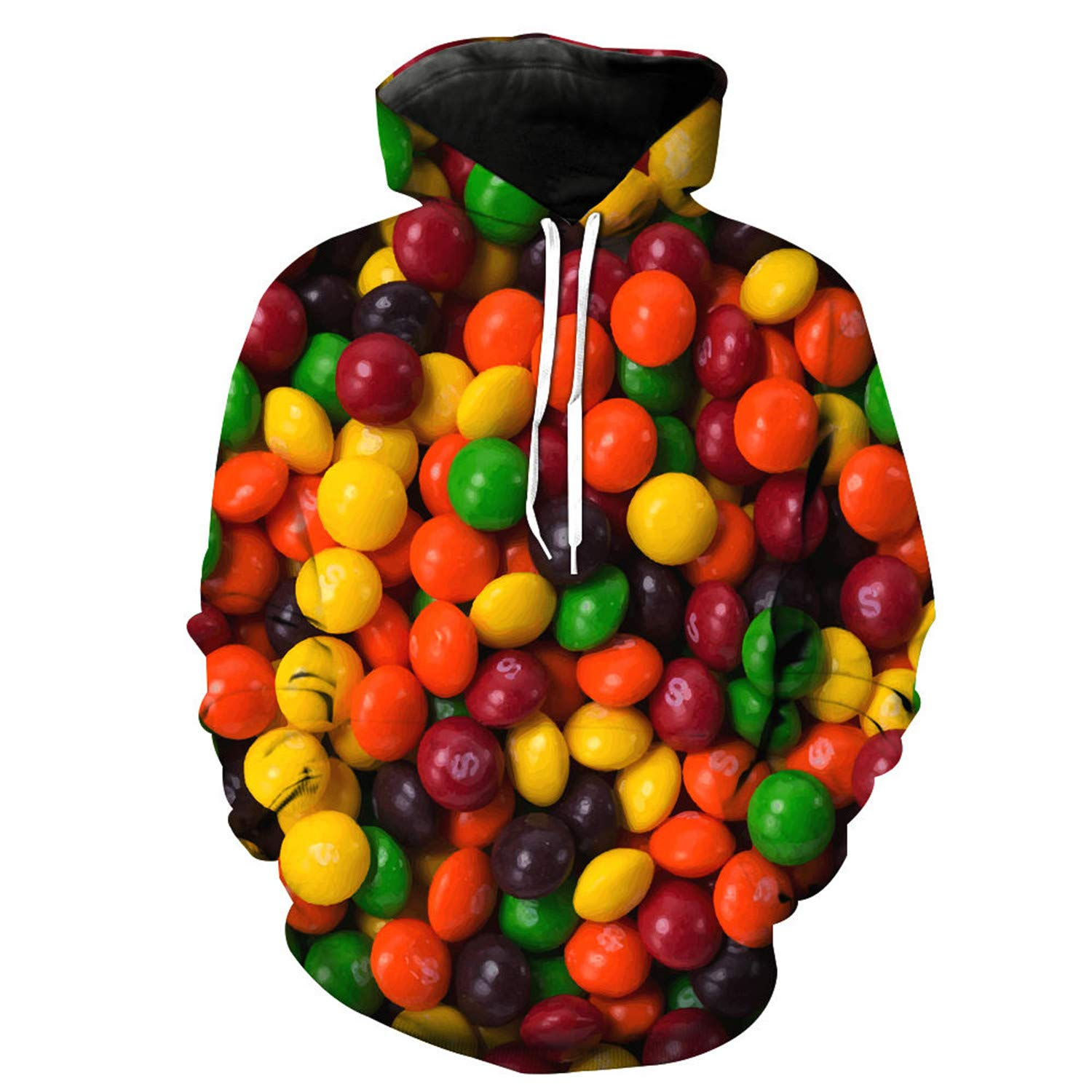 nayingying 3D Hoodies Imprimir Alimentos Dulces Delicioso Delgado Con Estilo Delgado Hoodies at Amazon Mens Clothing store: