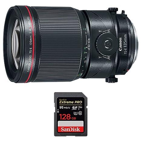 Canon (2275 C002) 135 mm f/4L objetivo fijo de la Prime ...