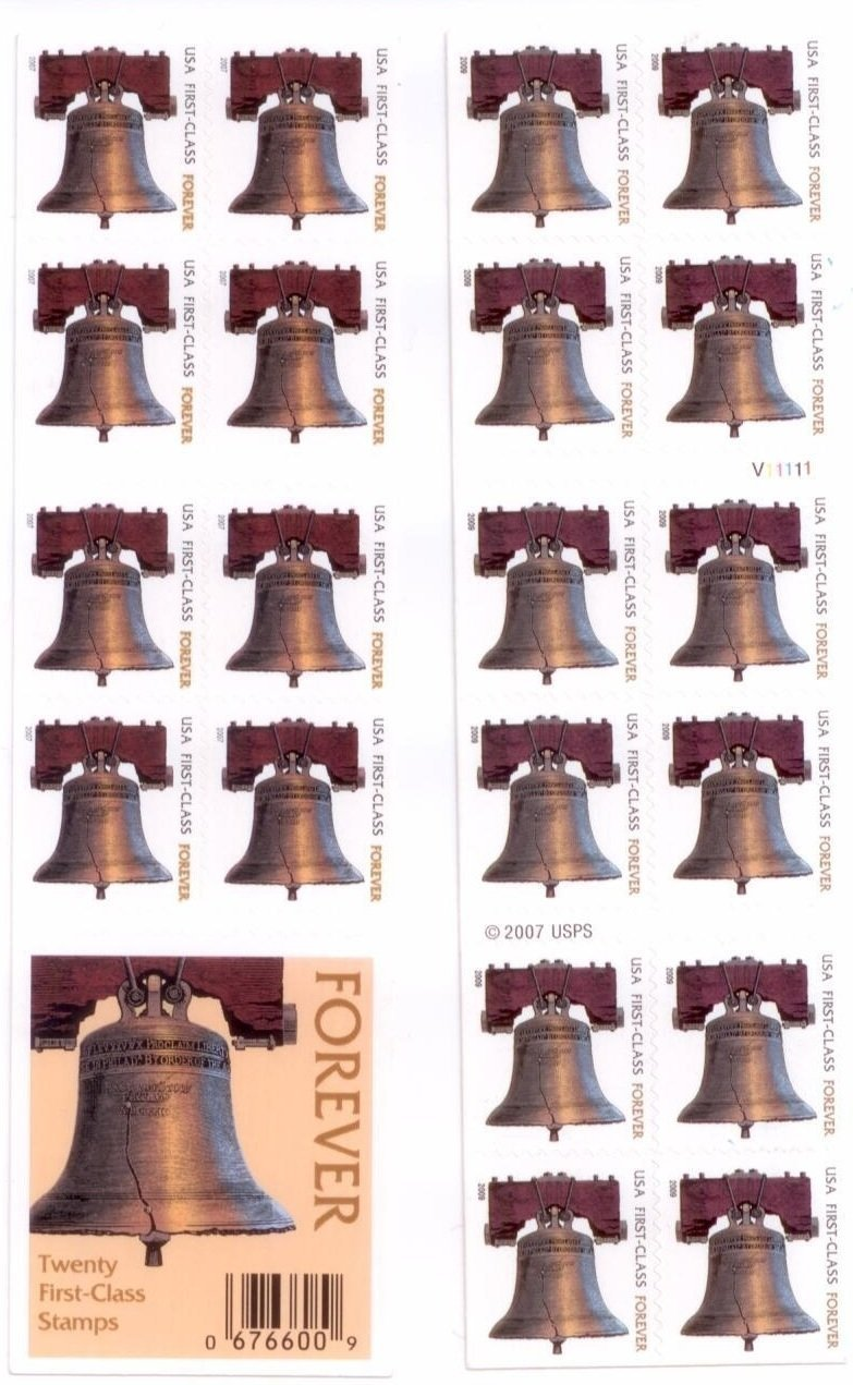 USPS Forever Stamps Liberty Bell, Booklet of 20 71wD98bQF1L