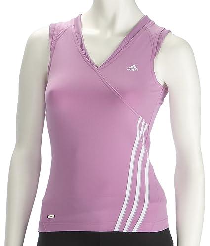 low priced dd744 39aeb Adidas 247-Canottiera da Donna, Colore Orchidea Rosa Taglia 12  Amazon.it Sport e tempo libero