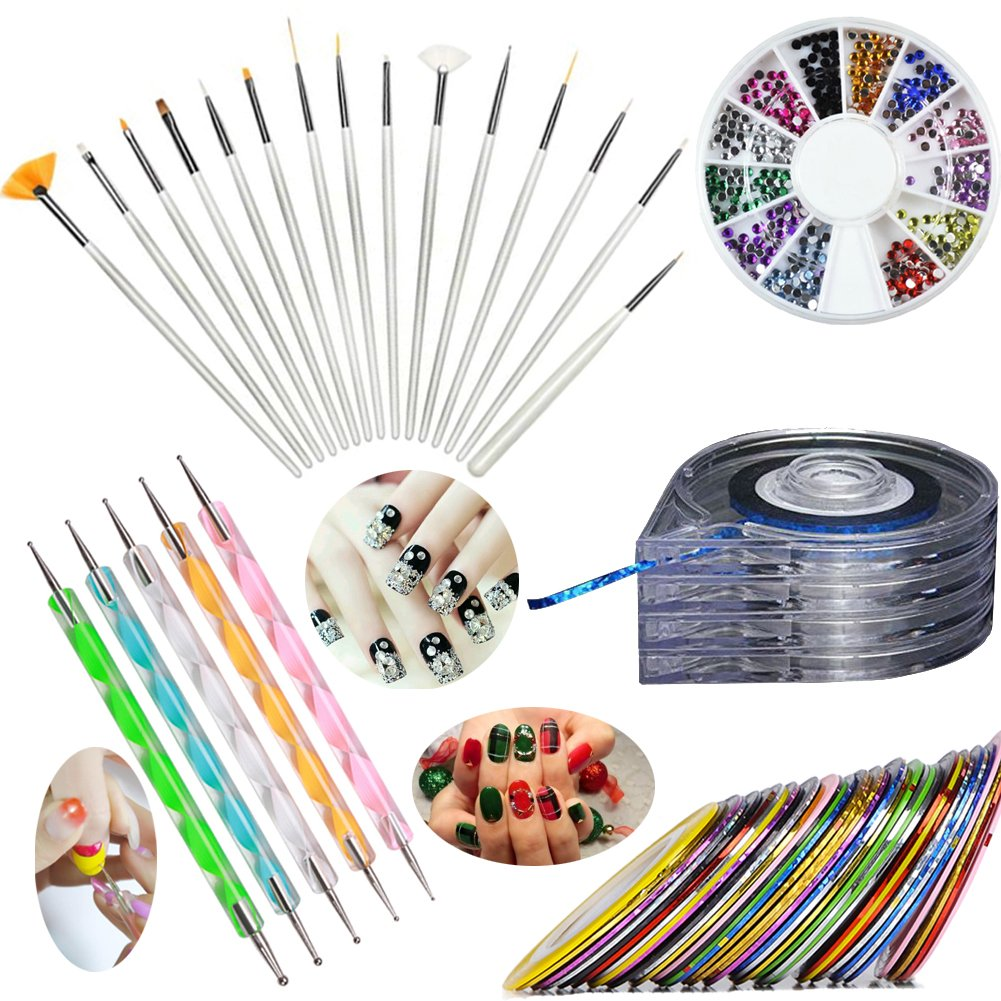 Nail Art Kit Boots: Nail Art Sets : Online Shopping For Clothing, Shoes