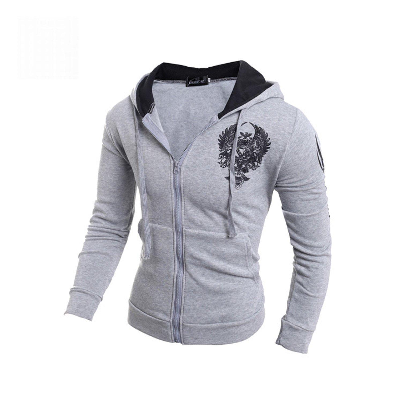 Amazon.com: RENXINGLIN Cosy Men Sudaderas Hombre Hip Hop Mens Brand Double Pocket Long Sleeve Mens Hoodies: Clothing