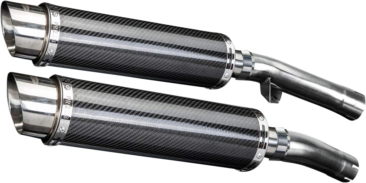 Delkevic Quieter Replacement Baffle for DL10 /& SL10 Round Mufflers