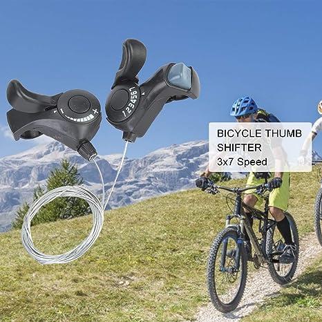 Palanca de cambio de pulgar para bicicleta de montaña al aire ...