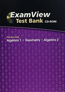 Amazon prentice hall chemistry exam view test bank cd rom examview test bank algebra 1geometryalgebra 2 fandeluxe Gallery