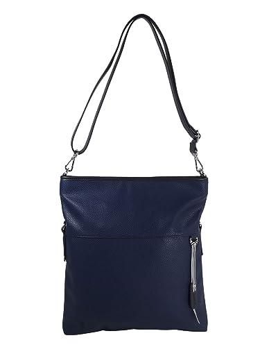 f6a9bc052112e ESPRIT Damen Handtasche Tasche Schultertasche Madison flap shoulderbag  Blau  Amazon.de  Schuhe   Handtaschen