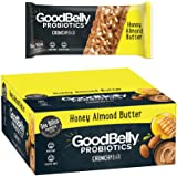 GoodBelly Probiotic Bar Honey Almond Butter 10-1.49 oz. Bars