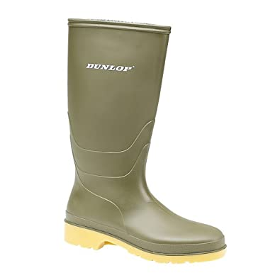 RAPIDO PVC LAARS GROEN, Unisex Adults Long Shaft Boots Dunlop