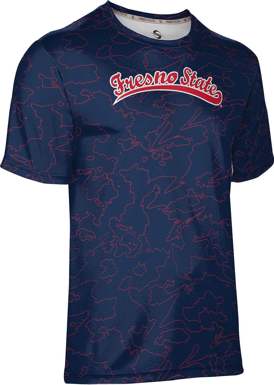 Topography ProSphere Fresno State University Mens Performance T-Shirt
