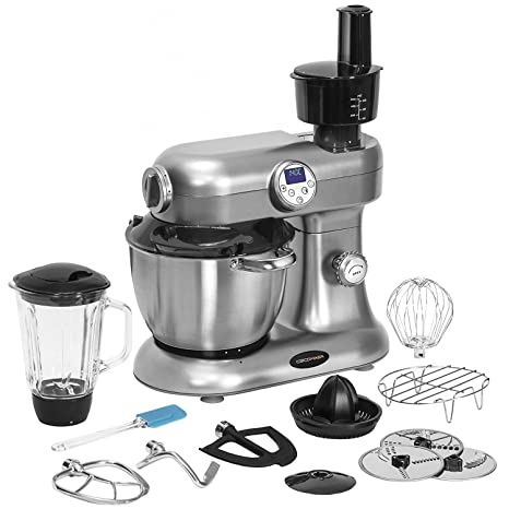 Cecotec 4012 Robot de Cocina Multifunción Procesador de Alimen, Multicolor