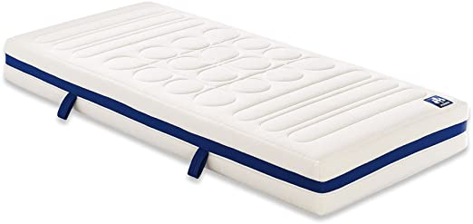 Irisette 03888400235 colchón de Espuma fría de poliéster vitaflex flextube 210 x 100 x 20 cm, Colour Blanco: Amazon.es: Hogar