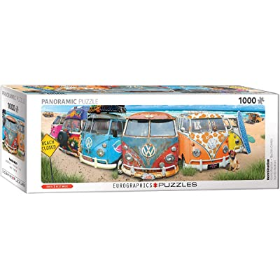 EuroGraphics Volkswagon KombiNation Panoramic 1000-Piece Puzzle: Toys & Games
