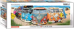 EuroGraphics Volkswagon KombiNation Panoramic 1000-Piece Puzzle