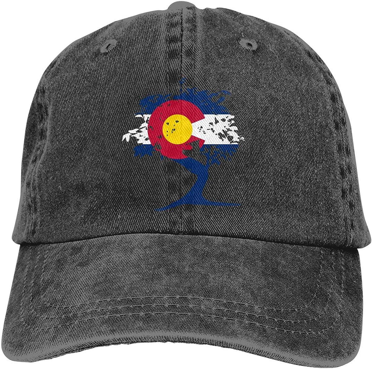 Bonsai Tree Adult Custom Cowboy Sun Hat Adjustable Baseball Cap