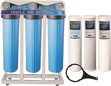 Whole House - Filtro de agua de 3 etapas para purificador de agua ...