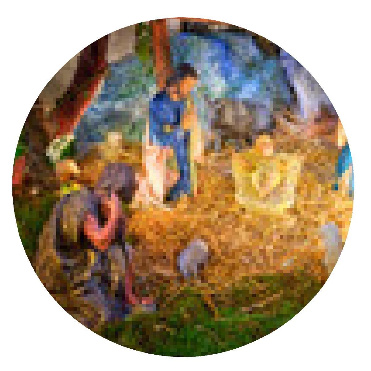 alfombrilla de ratón Navidad pesebre con el niño Jesús ...