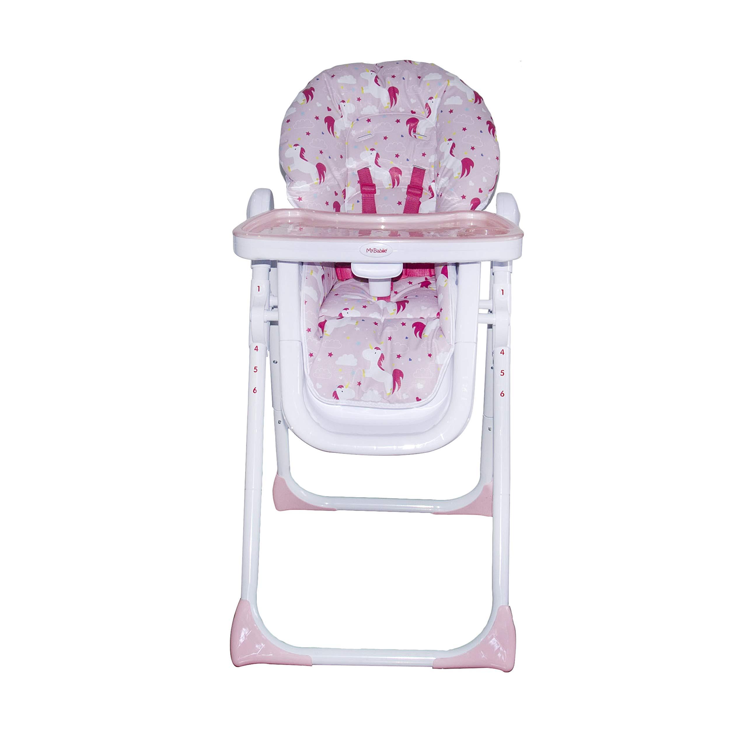 Believe by Katie Piper Unicorns Premium High Chair