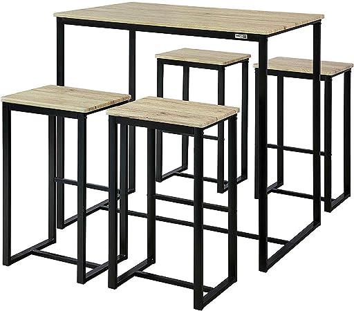 1 Set N OGT15 de Ensemble Table SoBuy Tabourets de Table4 5RjAL4