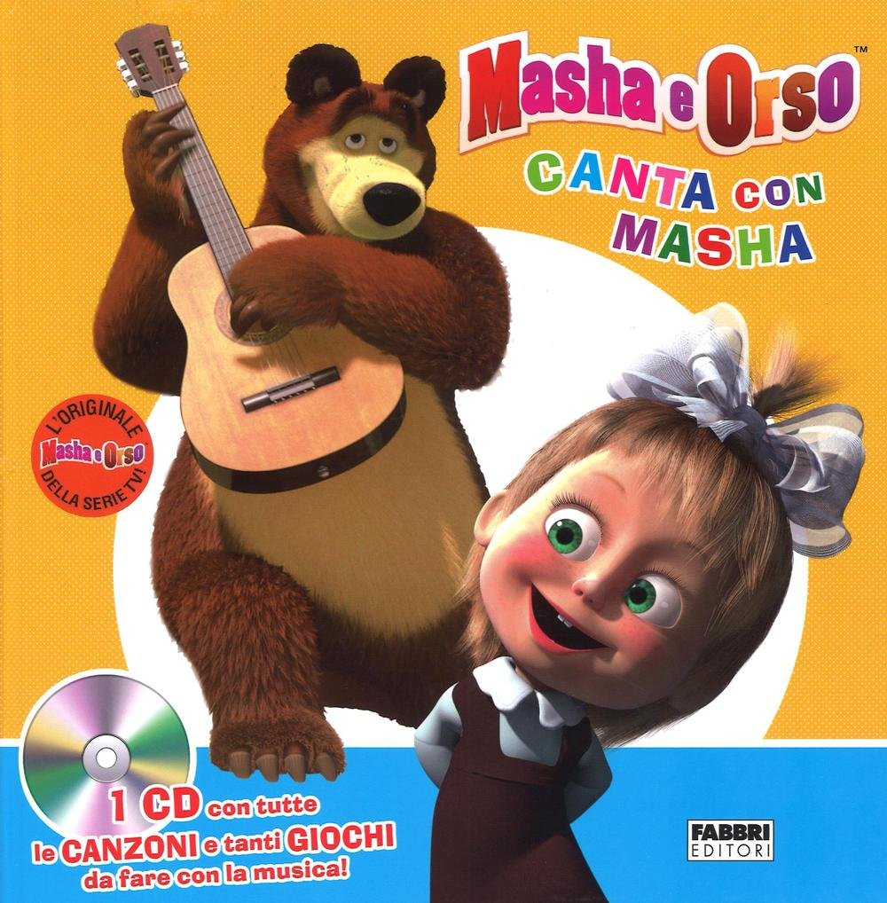 Amazon canta con masha masha e orso ediz illustrata con cd