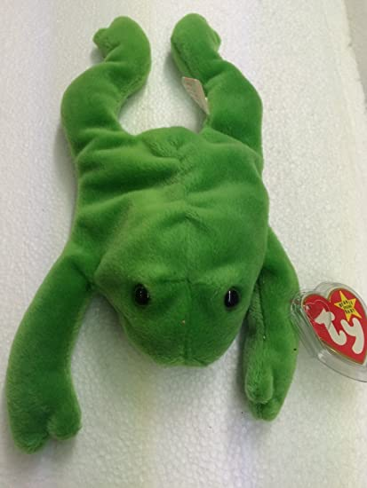741bedfd59c Amazon.com   Ty Beanie Babies Legs the Frog Plush Doll   Everything Else