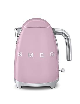 Smeg KLF01 Calentador de Agua Eléctrico, Hervidor 2400 W, 1.7 litros, Acero Inoxidable