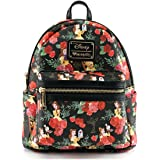 Loungefly X Disney Belle Roses Mini Backpack