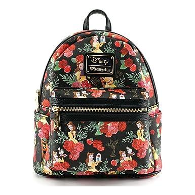 À Aop Sac Loungefly Disney Roses Belle Mini X Dos vNwm8n0