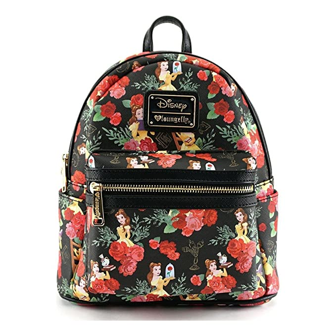 Loungefly X Disney Belle Roses Mini Backpack