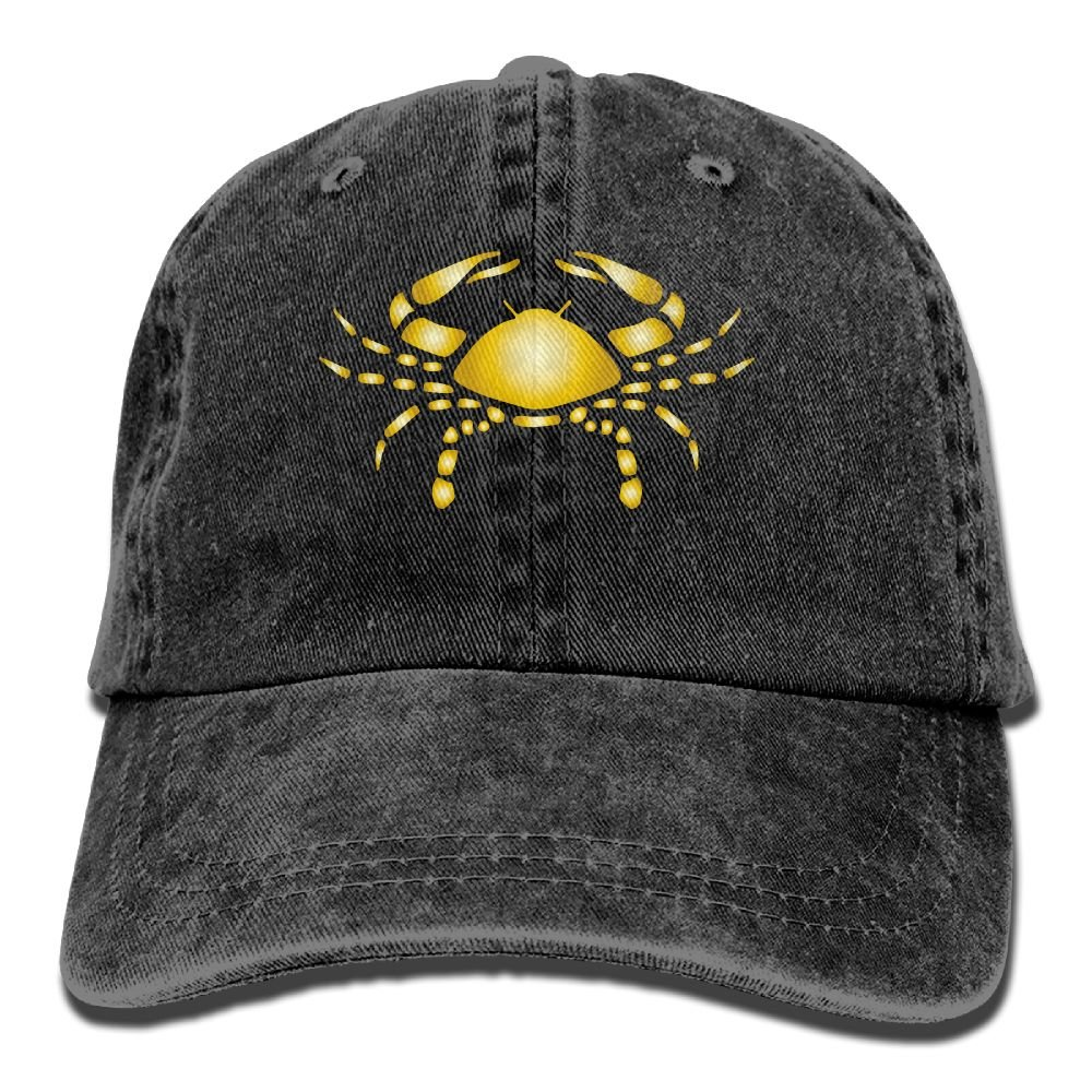 Trableade Twelve Palaces Of Gold In Gold Unisex Sport Adjustable Structured Baseball Cowboy Hat