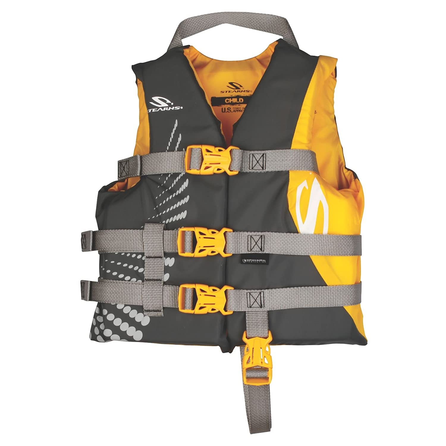 Stearns Youth Antimicrobial Nylon Life Jacket Stearns Antimicrobial Nylon Child Vest Coleman 2000013961