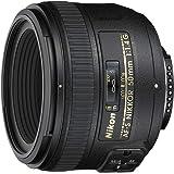 Nikon AF-S FX NIKKOR 50mm f/1.4G Lens with Auto Focus for Nikon DSLR Cameras (Renewed)
