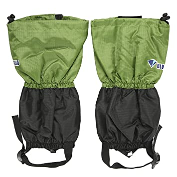 Lixada 1 Pair Children Snow Leg Gaiters Snow Leg Boot Cover Strap Kids Outdoor High Gaiter for Climbing Skiing
