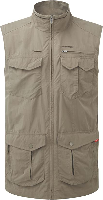 TALLA S. Craghoppers Mens NosiLife Adventure Lightweight Gilet