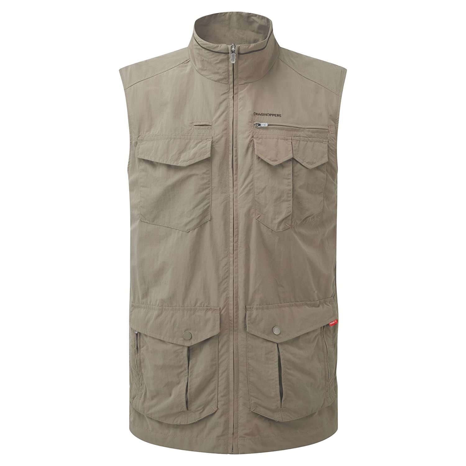 Craghoppers Mens NosiLife Adventure Lightweight Gilet