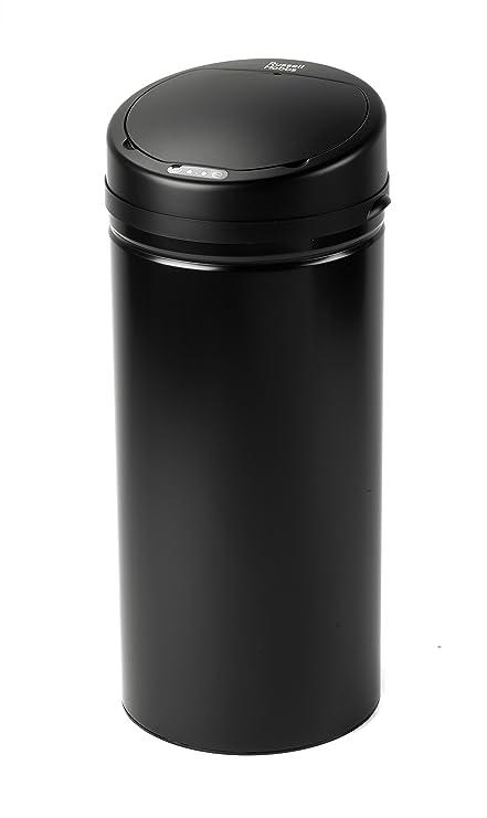 Russell Hobbs BW04512 - Cubo de Basura con Sensor de Movimiento, Color Negro, Talla